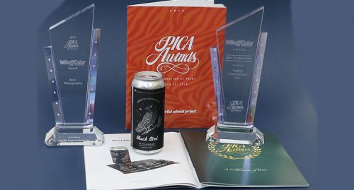 Subtle Impressions Wikoff Color Corp Pica Award
