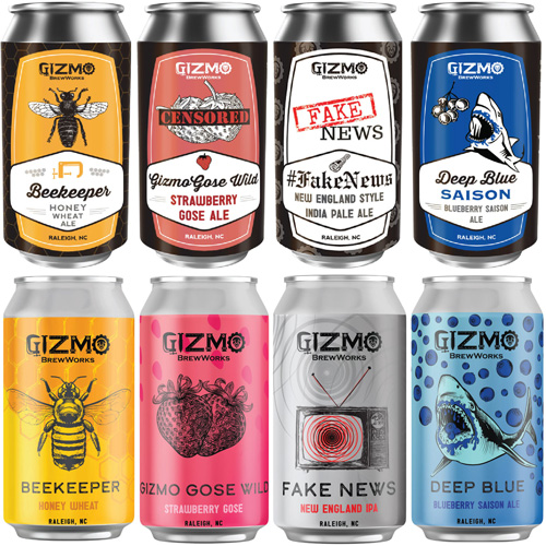 12 Ounce Can Labels